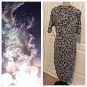 LuLaRoe Dresses - BNWT LuLaRoe Julia Neutral Colors